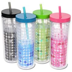 Ice Chameleon Tumbler with Straw - 16 oz. (Item No. C121432) from only $4.39 ready to be imprinted by 4imprint Promotional Products