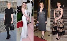 Haley Bennett. En el desfile de Louis Vuitton; de Michael Kors en la gala del Met de este año…
