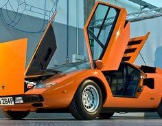 Lamborghini, Countach, 5000s, 1980s, V12,