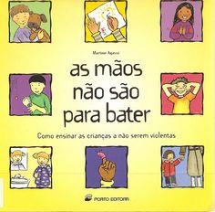 """Caixa de brinquedos: """"As mãos não são para bater""""- Martine Agassi"""