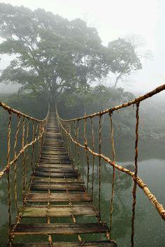 Miltä sillan päässä tuntuu? Miksi sen yli pitää päästä? Miltä ylittäminen tuntuu? Mitä toisesta päästä löytyy?