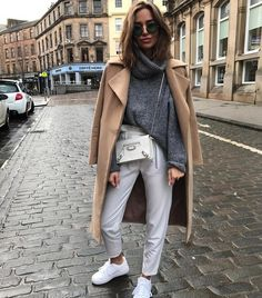 48 casual winter women outfits with sneakers 2019 teen fashi Fashion Casual, Spring Fashion Outfits, Fall Winter Outfits, Look Fashion, Autumn Winter Fashion, Trendy Fashion, Womens Fashion, Fashion Trends, Casual Winter