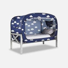 The Bed Tent for Better Sleep during naptime, bedtime, playtime and alone time. Floor Bed Frame, Diy Tent, Futon Bed, Bed Springs, Girl Bedroom Designs, Bedroom Ideas, Types Of Beds, Shared Rooms, Cool Beds