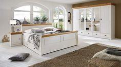 Großartig Bringen Sie Mit Diesem 3S Frankenmöbel Schlafzimmer Im Skandinavischen  Landhausstil Ein Stück Romantik In Ihre Vier