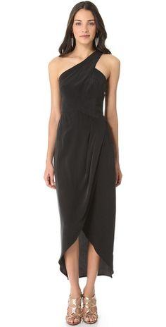 Zimmermann One Shoulder Maxi Dress | SHOPBOP