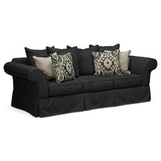 Gramercy Upholstery Sofa - Value City Furniture $549.99