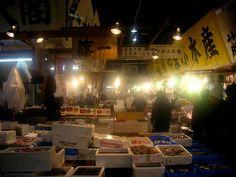 Tsukiji Fish Market Tokyo via Jetpac #JetpacTravel