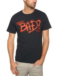Amazon.com: Mens Michael Jackson Whos Bad T Shirt: Clothing