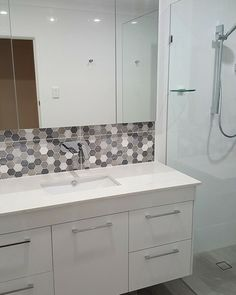 Some photos showcased here in our Bathroom Renovation Gallery , Call now to find out how we can create a beautiful bathroom for you. Wall Hung Vanity, Beautiful Bathrooms, Bathroom Renovations, Double Vanity, Gallery, Roof Rack, Double Sink Vanity, Bathroom Remodeling