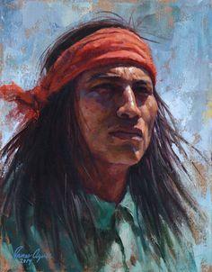 Apache Gaze ~ by James Ayers