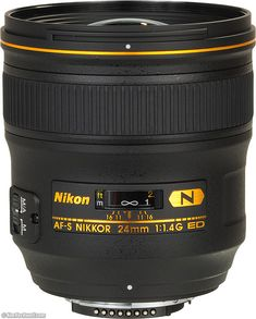 Nikon 24mm f/1.4 -- This lens makes beautiful wide angle portraits.