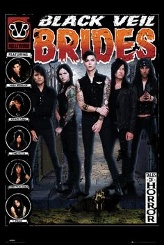 Black Veil Brides Tale of Horror - Official Poster