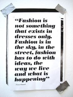 fashion is beauty and inspiration in many forms...