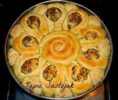 Tajni sastojak : SVEČANA POGAČA - (Croatian) Festive Cake II - homemade bread decorative appearance