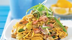 Recipes+ shows you how to make this seafood chow mein recipe.