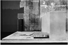"""""""Construction Detail, East Wall, Xerox, 1821 Dyer Road, Santa Ana,"""" 1974 from """"The new Industrial Parks near Irvine, California."""" Gelatin silver print. (Lewis Baltz/Courtesy Galerie Thomas Zander, Cologne)"""