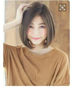 Some people attracted with this professional hair ; Asian Short Hair, Asian Hair, Short Hair Cuts, Short Bob Hairstyles, Hairstyles Haircuts, Pretty Hairstyles, Asian Bob Haircut, Medium Hair Styles, Short Hair Styles