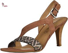 Tamaris 1-28359-28 femmes Sandale Mocca, EU 41 - Chaussures tamaris (*Partner-Link)