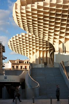 Metropol Parasol by J. Mayer H. Architekten - I Like Architecture