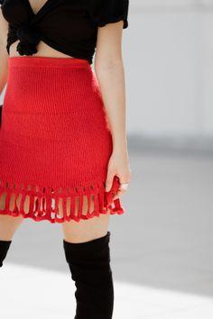 #Moda #Look #Punto #Falda #Pretty #AndoLiando #Sevilla #Blogger #AlasdeangelBlog