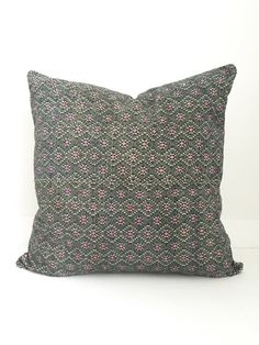 Chinese Embroidered Pillow Cover Vintage by HomegirlCollection
