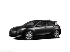 obviously need a dream car too!  Mazda 3 hatchback (in black)