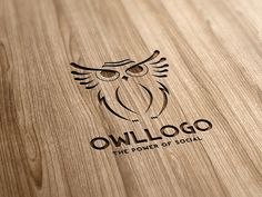 Check out Owl Logo by rotree_man on Creative Market