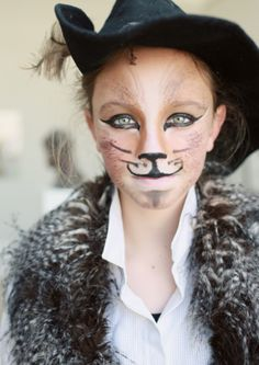 Puss In Boots Makeup