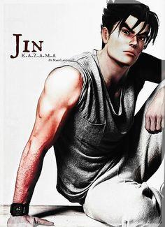 Jin - Tekken Action Pose Reference, Action Poses, Video Game Characters, Comic Book Characters, Tekken 7 Jin, Anime Manga, Anime Guys, Tekken Wallpaper, Tekken Tag Tournament 2