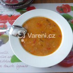 Fazolová polévka s klobásou recept - Vareni.cz Ethnic Recipes, Kitchen, Food, Cooking, Kitchens, Essen, Meals, Cuisine, Yemek