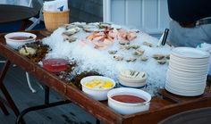 I could live off raw bar