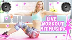Taylor Swift Workout | Schmale Taille Workout mit Live Musik | VERONICA-...