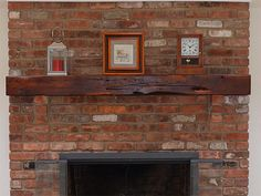 Superb Fireplace Beam Mantels #1 Related Posts. Reclaimed Cherry Fireplace Mantel .