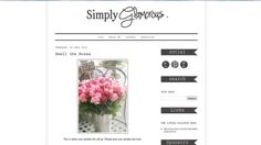 Premade Blogger Template  Blog Layout Design by TheLittleLollypop