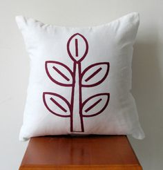 Contemporary Decorative Pillow Cover Screen by AnyarwotDesigns, $20.00