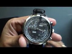 EN VENTA: Reloj TIMEX Intelligent Quartz - Serie Viajero - Hora Mundial. $2,600 - Envió en todo Mexico. Chronograph, Youtube, Silver, Accessories, Youtubers, Youtube Movies, Money, Jewelry Accessories
