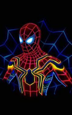 Spiderman – Spiderman – Peter Parker – Backgrounds – Wallpaper - Suit World Amazing Spiderman, Spiderman Noir, Spiderman Art, Marvel Art, Marvel Dc Comics, Marvel Heroes, Marvel Movies, Marvel Avengers, Spiderman Wallpaper 4k