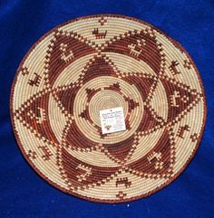 Beautiful finely woven large basket. Functional yet decorative enough to hang on your wall as an accent piece. $22.95 #basket #homedecor #southwest