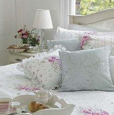 Inspiração décor – quartos Shabby Chic e Cottage romântico!!!