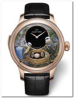b3af837dfef5 Jackuet Droz - необычные часы гнездо Карманные Часы, Наручные Часы, Лица,  Роскошные Часы