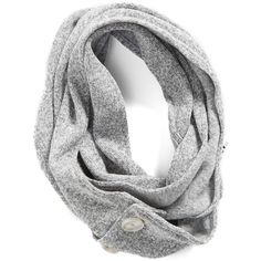 Women's Patagonia 'Better Sweater' Wide Scarf ($45) ❤ liked on Polyvore featuring accessories, scarves, birch white, white scarves, patagonia, wrap shawl, oblong scarves and long scarves