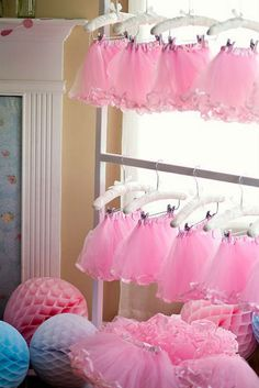 The Party Wagon - Blog - BEAUTIFUL BALLERINA BIRTHDAY PARTY