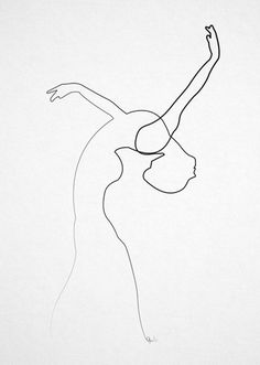 septagonstudios:  Quibe ON TUMBLR ONE LINE DANCER