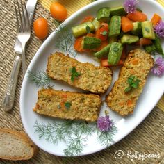 Vegetable pie with Bulgur,zucchini,carrots,cannellini beans. Vegan Vegetarian, Vegetarian Recipes, Great Recipes, Favorite Recipes, Vegetable Pie, Going Vegan, Avocado Toast, Food Art, Zucchini