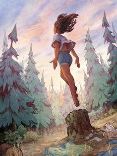 new ideas tree of life illustration art inspiration Inspiration Art, Art Inspo, Character Inspiration, Character Art, Black Girl Art, Art Girl, Fantasy Kunst, Fantasy Art, Pretty Art