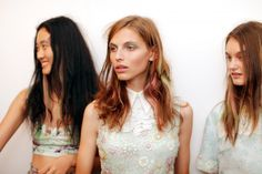 Fashion Week Backstage Beauty Snaps
