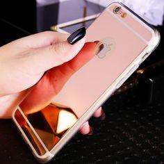 Coque Capinha Vente Chaude De Luxe Miroir placage PC Tpu Cas pour iPhone 5 5S SE 5SE Clair Transparent Miroir Ultra Mince couverture dans Téléphone sacs et étuis de Téléphones et télécommunications sur AliExpress.com | Alibaba Group