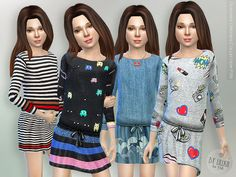 The Sims Resource: Designer Dresses Collection P38 by lillka • Sims 4 Downloads