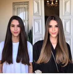 Golden Brown Balayage - 20 Best Golden Brown Hair Ideas to Choose From - The Trending Hairstyle Brown Hair Balayage, Brown Hair With Highlights, Brown Hair Colors, Ombre Hair, Brunnete Hair Color, Balayage Hair Brunette Straight, Golden Brown Hair Color, Curly To Straight Hair, New Hair