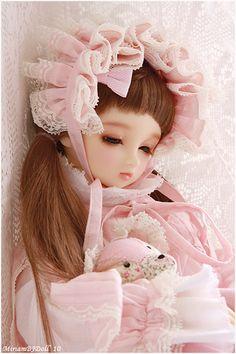 Sweet pink dreams by MiriamBJDolls, via Flickr